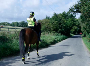 Hacking on beautiful country lanes