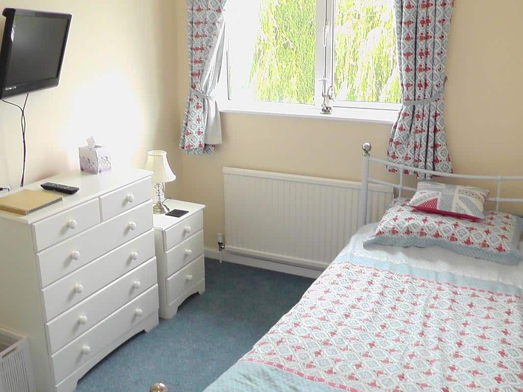 Single room at Willowbrook Bed and Breakfast Chichester West Sussex